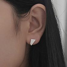 True Glam - Asymmetric Metal Earrings