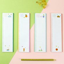 Cute Essentials - Schedule Note Pad