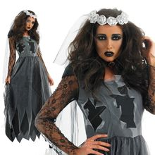 Cosgirl - Halloween Bride Party Costume
