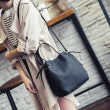 Q.BAISE - Faux Leather Hand Bag