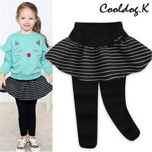 WALTON kids - Kids Inset Skirt Leggings