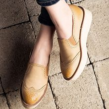 MIAOLV - Wingtip Loafers
