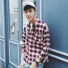 Mr. Cai - Long-Sleeve Plaid Shirt