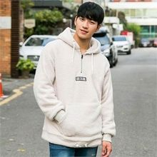 STYLEMAN - Fleece Half Zip-Up Hoodie