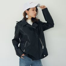 AC - Faux-Leather Biker Jacket