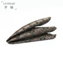 Luonan - Check Pocket Square