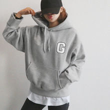 NANING9 - Cotton Hooded Pullover