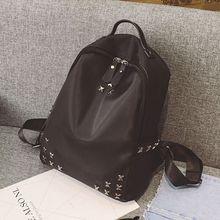 Diamante - Studded Nylon Backpack