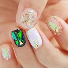 GEL NAILS - Iridescent Nail Foil