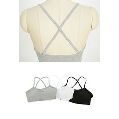 REDOPIN - Cross-Strap Bandeau Top