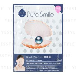 Sun Smile - Pure Smile Essence Mask Series For Milky Lotion (Black Pearl)