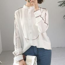 Cloud Nine - Long-Sleeve Tipped Shirt