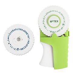 Zakka - Set: Label  Maker + Label Refills + 2 Font Wheels