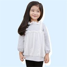 TWINSBILLY - Girls Lace-Overlay Dress