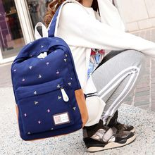 Seok - Print Canvas Backpack