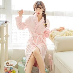Dreamland - Printed Fleece Robe