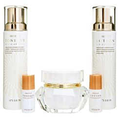 It's skin - Prestige D'escargot Special Set 1: Tonique 140ml + Lotion 140ml + Creme 60ml + Tonique 15ml + Lotion 15ml + Cotton Pad 20pcs