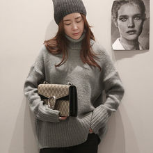 NANING9 - Turtleneck Knit Sweater