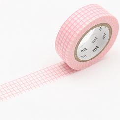 mt - mt Masking Tape : mt deco Grid Sakura