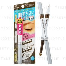 SANA - New Born Lasting W Brow EX (#02 Natural Brown)