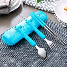 Home Simply - Cutlery Set: Chopsticks + Spoon + Fork + Towel