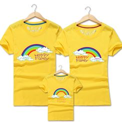 Lovebirds - Family Matching Short-Sleeve Printed T-Shirt