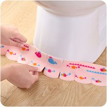 VANDO - Printed Toilet Foldable Sticker