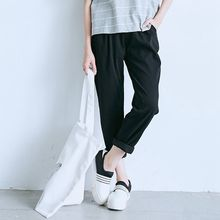 BAIMOMO - Textured Slim-Fit Pants