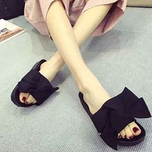 QQ Trend - Bow Slide Sandals