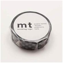 mt - mt Masking Tape : mt 1P Dot Black x Grey