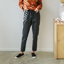 JUSTONE - Drawstring-Waist Baggy-Fit Pants