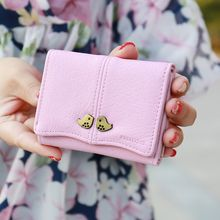 Bellflower - Bird-Accent Short Wallet