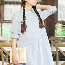 Ranche - Long-Sleeve Embroidered Dress