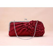 Glam Cham - Floral Applique Clutch