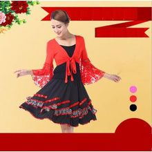 AUM - Latin Dance Set: Top + Skirt + Bolero