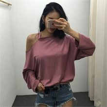 LIPHOP - Cutout-Shoulder Top