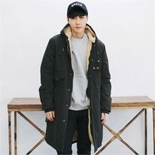 MITOSHOP - Fleece-Lined Long Parka
