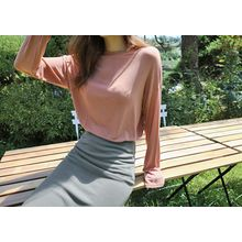 Hello sweety - Round-Neck Drop-Shoulder T-Shirt