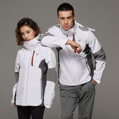 Sylphlike Loli - Couple Matching Sports Hooded Jacket