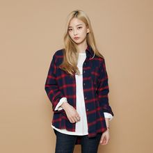 Envy Look - Long-Sleeve Check Shirt