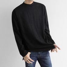 Seoul Homme - Colored Round-Neck T-Shirt