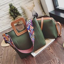 BAGuette - Set: Color Block Hand bag + Crossbody bag