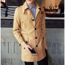 Consto - Single Breasted Trench Coat