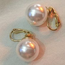Nocturne - Faux Pearl Single Earring (Various Designs)