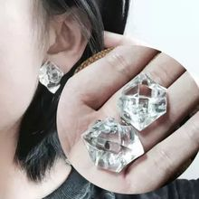 Nocturne - Ice Cube Single Earring