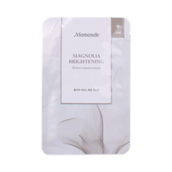 Mamonde - Mangollia Brightening Flower Essence Mask 1pc