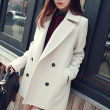 OTTI - Double Breasted Woolen Coat