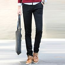 Evzen - Plain Straight-Leg Pants