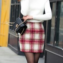 Loverac - Plaid Mini Skirt