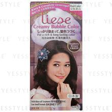 Kao - Liese Creamy Bubble Hair Color (Raspberry Brown)